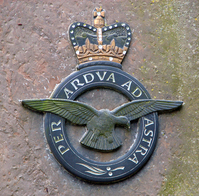 RAF memorial at Bircham Newton (detail)