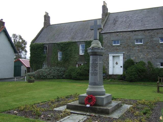 War Memorial, Lowick