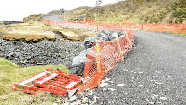 Coastal path improvements, Helen's Bay - February 2015(5)