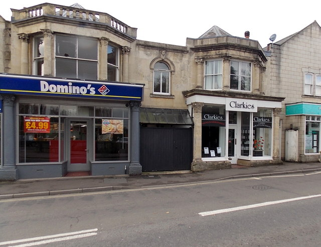 Domino 39 s and clarkies in melksham jaggery geograph for Dominos pizza salon