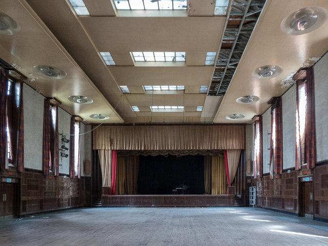 Interior, Hornsey Town Hall, London N8 © Christine ...