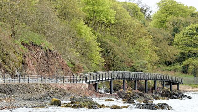 Coastal path improvements, Helen's Bay - May 2015(1)