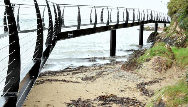 Coastal path improvements, Helen's Bay - May 2015(2)