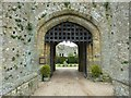TQ0213 : Amberley Castle - Gatehouse Arch by Rob Farrow
