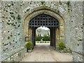 TQ0213 : Amberley Castle - Gatehouse Arch by Rob Farrow