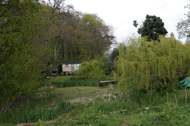 Pond at White House Farm