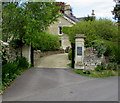 ST7859 : Entrance to Tyning House, Freshford by Jaggery