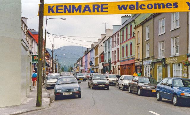 Kenmare, 1993: northward on Henry Street.