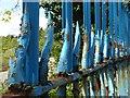 ST3086 : Detail of railings in Mendalgief Road : Week 18