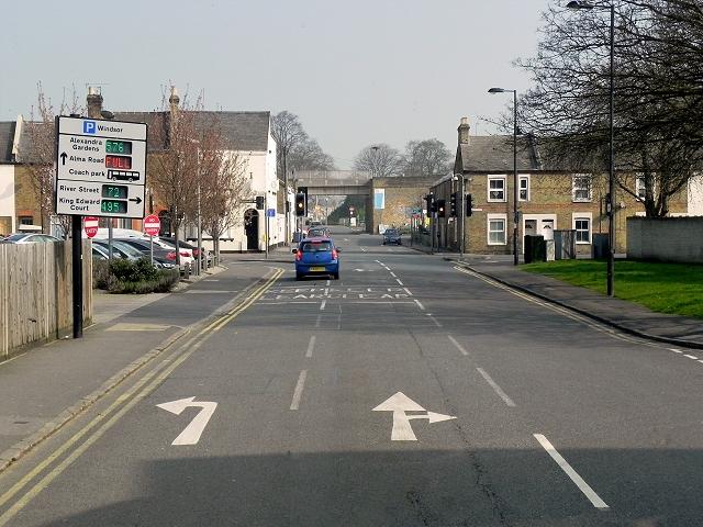 Alma Road Car Park Romsey