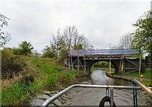 SJ9493 : Bridge #9 under repair by Gerald England