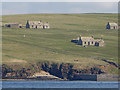 ND3576 : Abandoned houses on the Isle of Stroma : Week 19