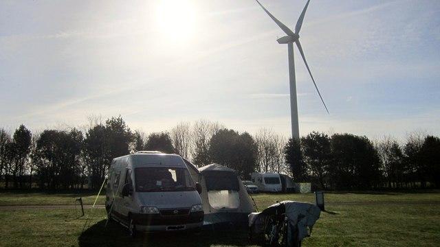 Camping & Caravan Club Site
