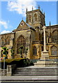 ST6316 : Sherborne War Memorial by Jaggery