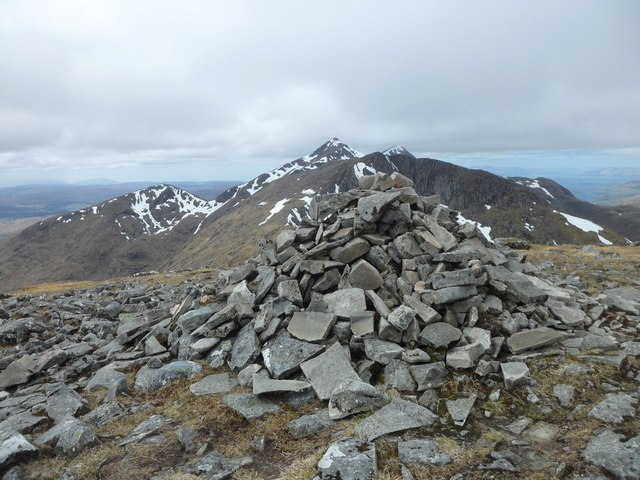 Stob Diamh summit