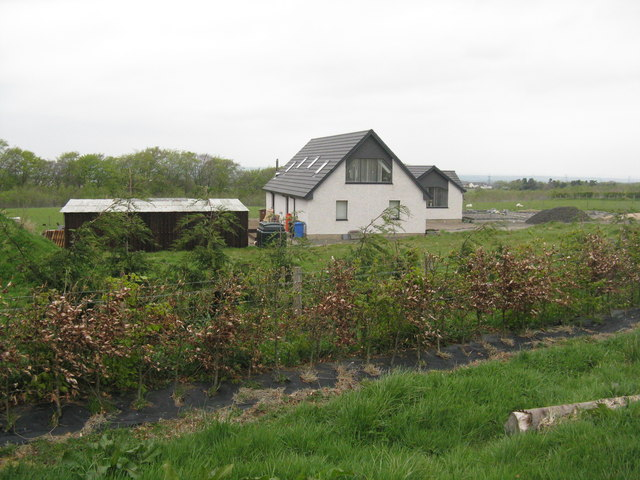 New croft house at West Mains