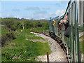 SZ0179 : Swanage Railway near Herston : Week 19