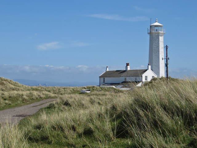 Private track to Walney lighthouse
