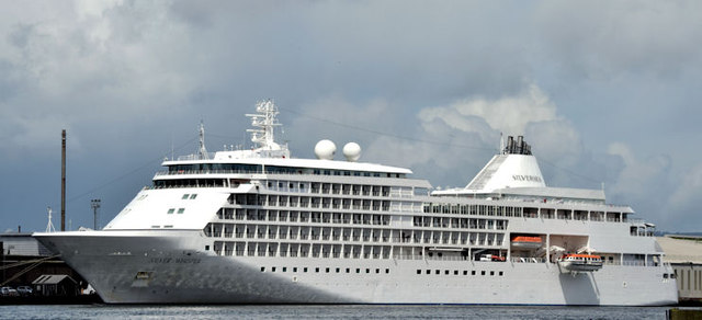 """The """"Silver Whisper"""", Belfast (May 2015)"""