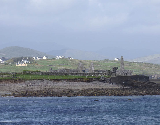 Ruins of Ballinskelligs Priory