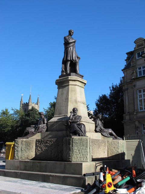 Stephenson Monument, Westgate Road