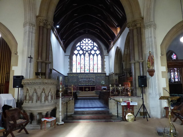 St Gregory the Great's church, Dawlish - interior