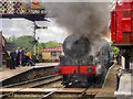 SD7916 : Steam Locomotive Leaving Ramsbottom Station by David Dixon