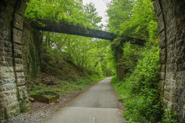 Wheal Lopes Leat Aqueduct