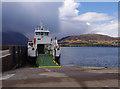 NG5436 : Hallaig at Raasay Ferry Pier by Ian Taylor