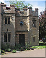 TL1967 : Buckden Palace: the newest part of the Gatehouse by John Sutton