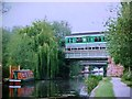 SK4832 : Midland Main Line crosses the Erewash Canal by Tim Glover
