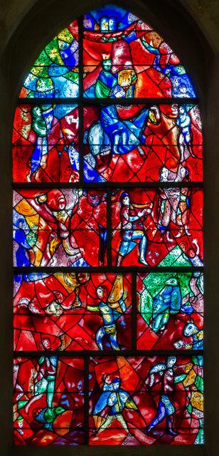 Chagall Window Chichester Cathedral 169 Julian P Guffogg Cc