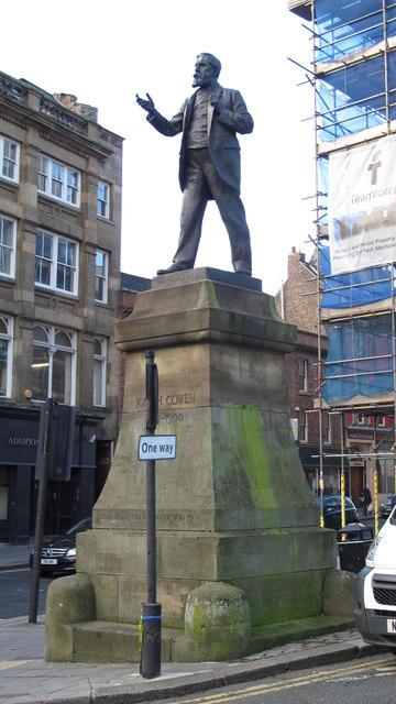 Statue of Joseph Cowen, Westgate Road