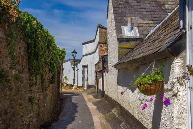 A timeless street - Ramparts Walk Totnes