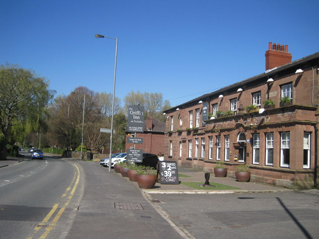 Church Lane and The Griffin Inn