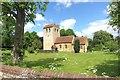 SU7791 : St Bartholomew's Church, Fingest by Des Blenkinsopp