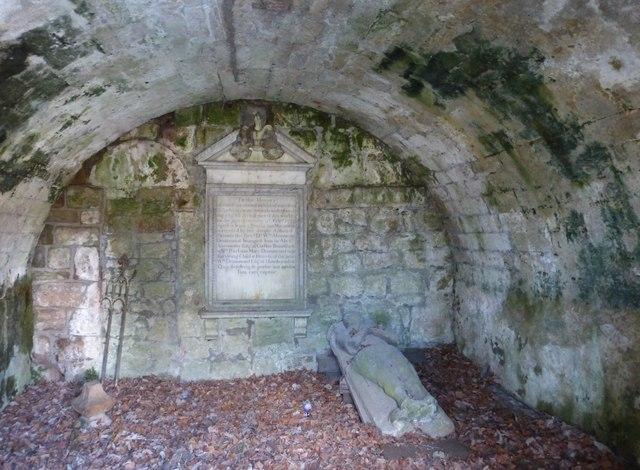 Drummond Aisle interior, Lasswade Old Kirkyard