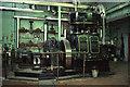 SJ7667 : Fine Art Wall Coverings, Holmes Chapel - steam engine by Chris Allen