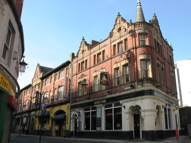 Rosie's Bar, Stowell Street, Newcastle