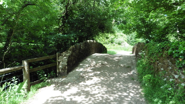 Parke Bridge over the River Bovey, Parke Estate, Bovey Tracey