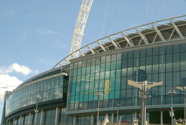 Wembley Stadium Perimeter Section of Wembley Stadium
