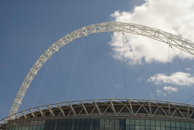 Wembley Stadium Perimeter View of Wembley Stadium From