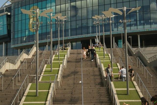 Wembley Stadium Perimeter Stadium From Perimeter Way