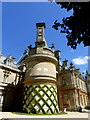 SP7316 : Round turret on Waddesdon Manor by pam fray