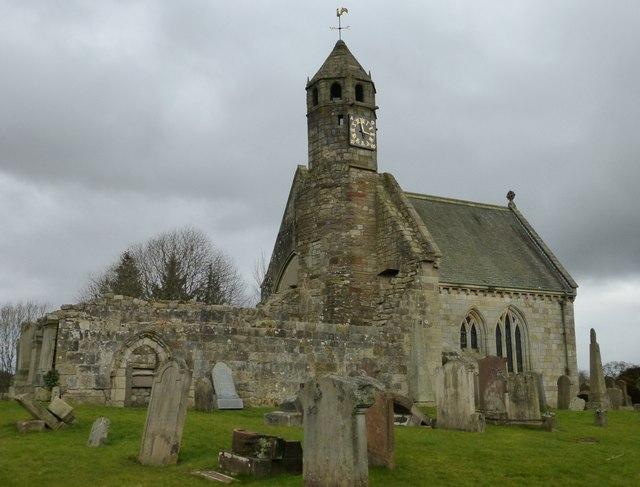 Old St. Bride's Kirk