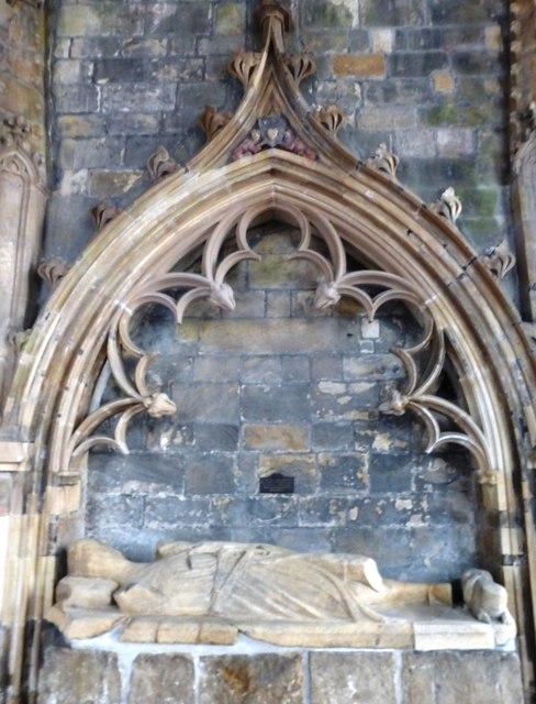 Effigy of the Good Sir James of Douglas