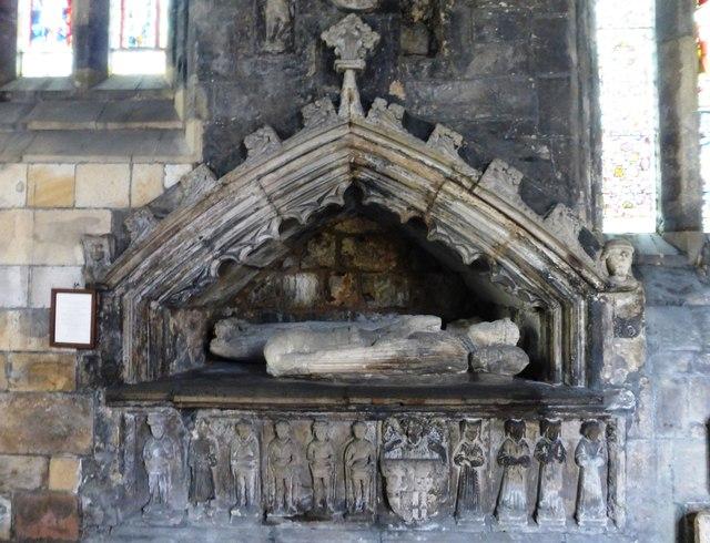 Effigy of Archibald, 7th earl of Douglas