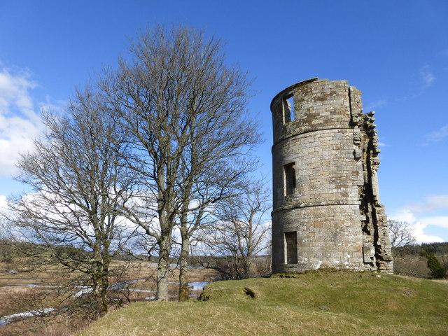 Site of Douglas Castle