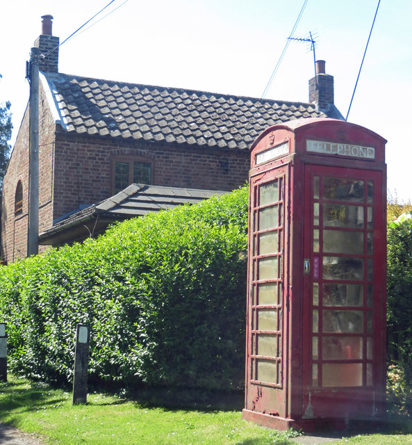 Phone Box at Burnham