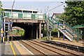 SJ8583 : B5358 Station Road bridge, Handforth railway station by El Pollock